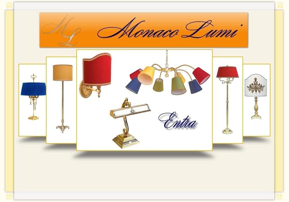 Produzione e vendita on-line lampade in ottone e paralumi